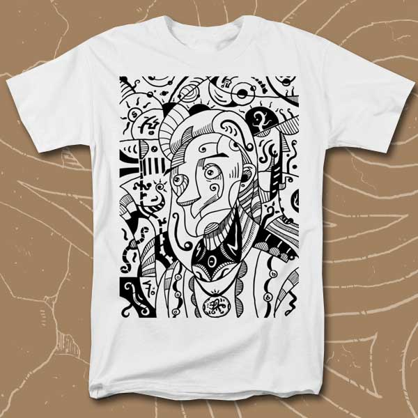 surrealism-philosopher-black-and-white-sotuland-tshirt