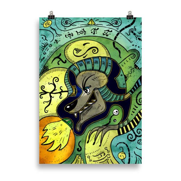 """""""Anubis"""" Poster"""