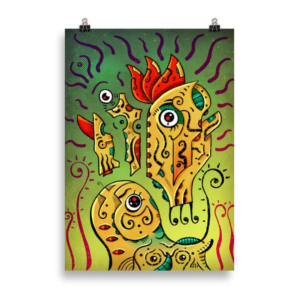 """Ancient Spirit"" Poster"