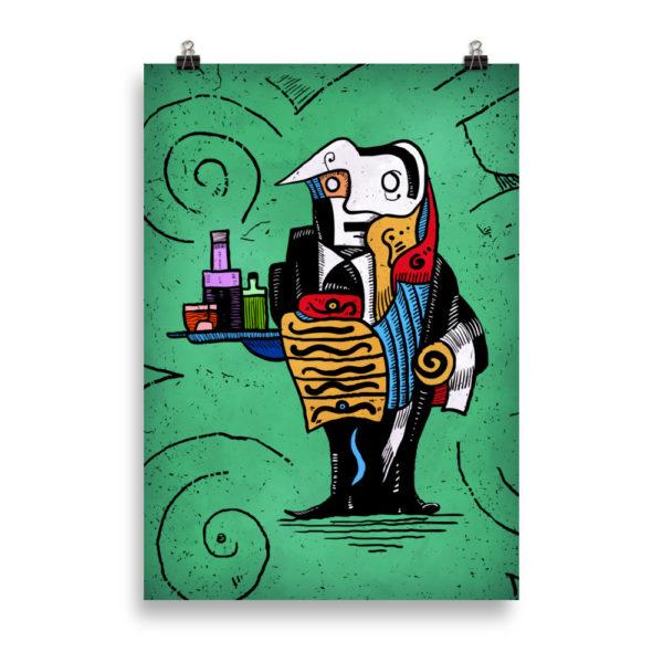"""""""Absinthe"""" Poster"""