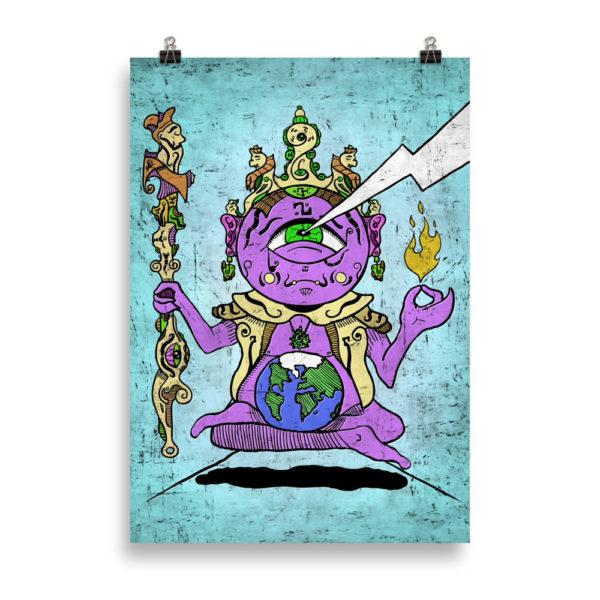"""Zen Meditation"" Poster"