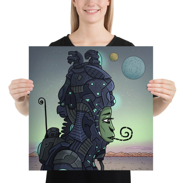 Lonely Alien Poster