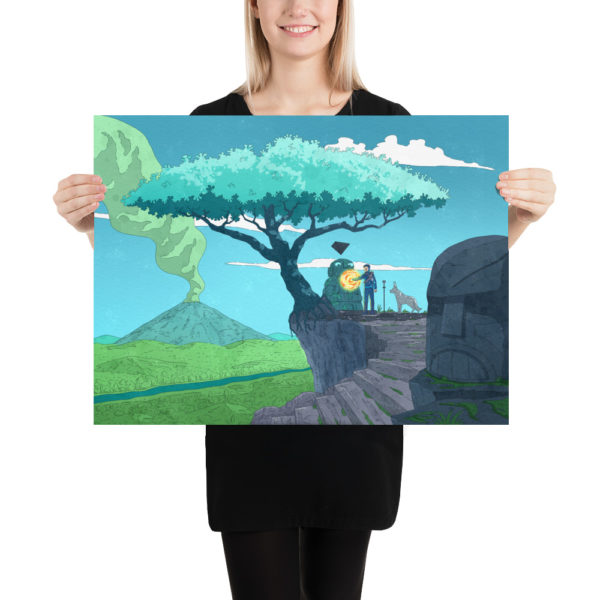 Keenan and the Tree of Life Poster