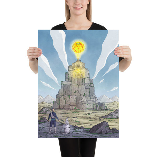 Temple Of The Sun God Poster