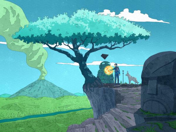 """""""Keenan and the Tree of Life"""" Printable Wall Art"""
