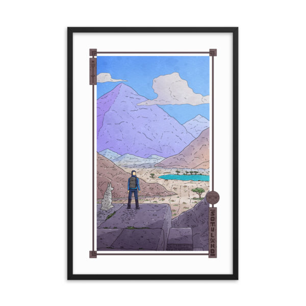"""Sunset"" Framed Poster"