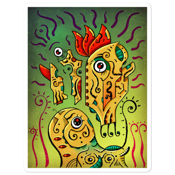 """Ancient Spirit"" Sticker"
