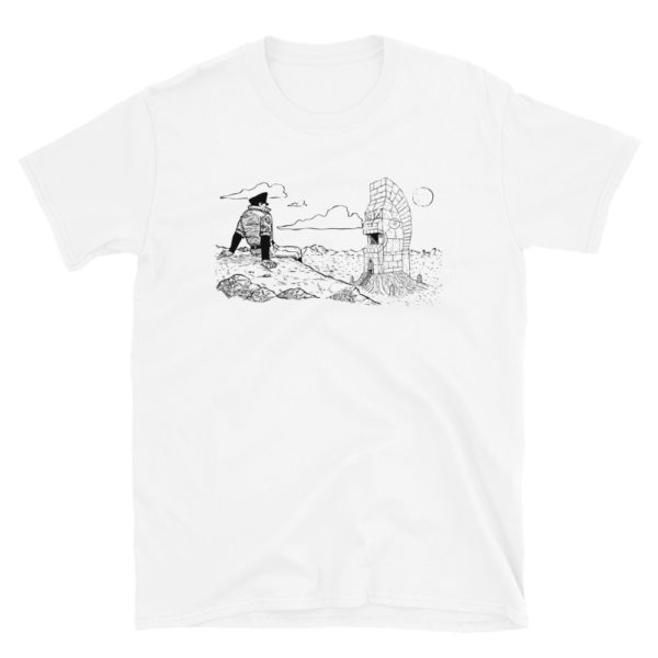 """Ancient Temple"" Unisex Tee"