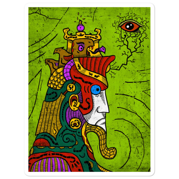 """Ancient Egypt Pharaoh"" Sticker"