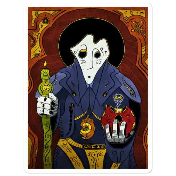 """""""Shadow Priest"""" Sticker"""