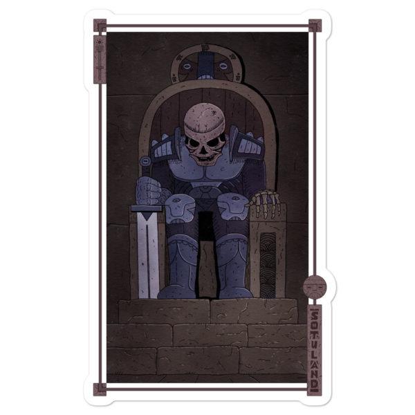 """""""Tomb"""" Sticker"""