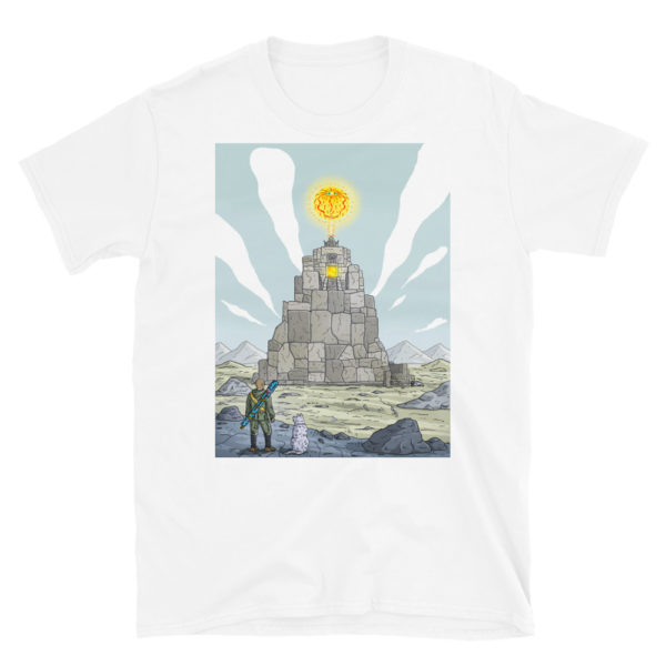 """Temple of the sun god"" Unisex Tee"