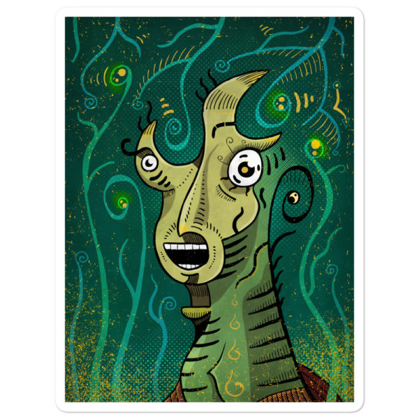 """Scream"" Sticker"