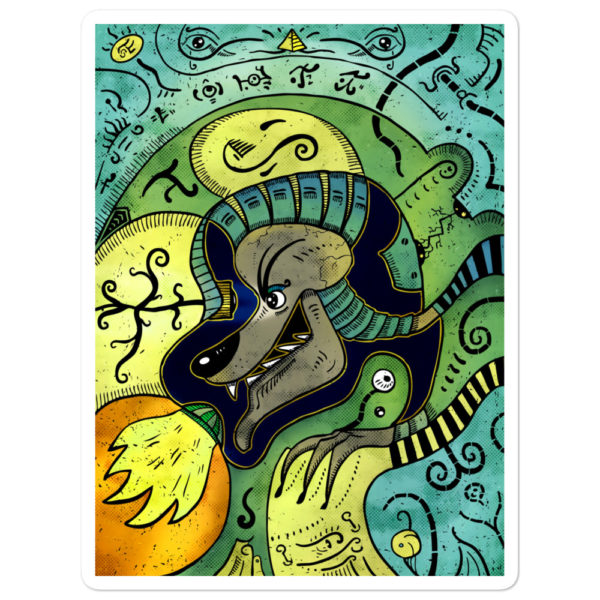 """Anubis"" Sticker"