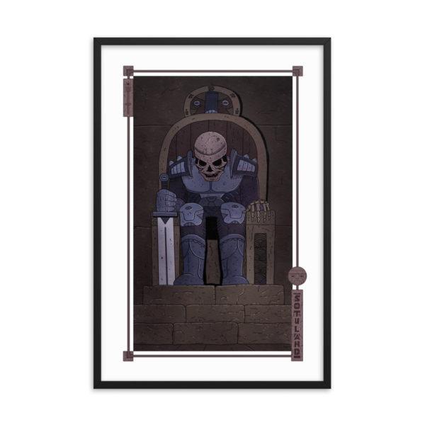 """Tomb"" Framed Poster"