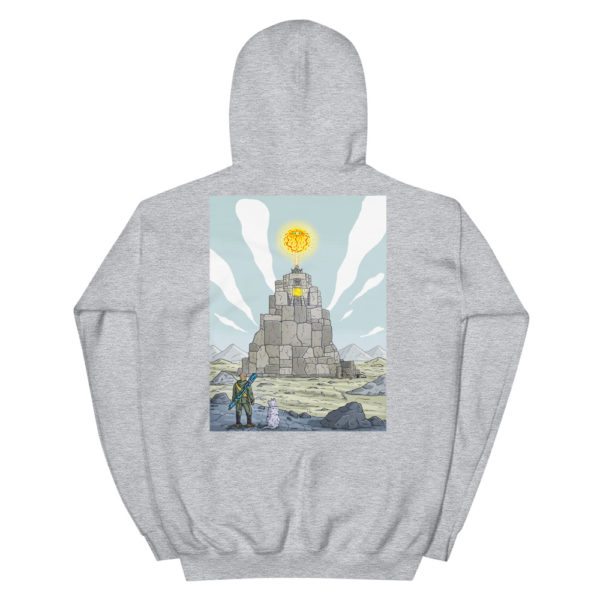 """Temple of the sun god"" Hoodie"