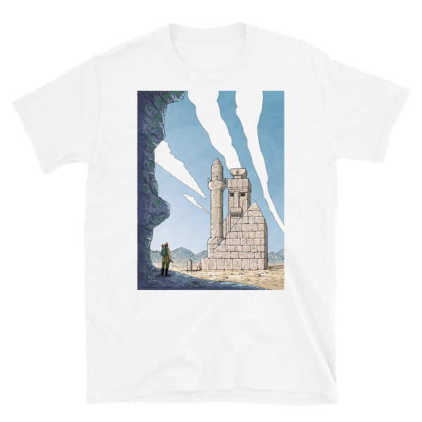 """The Lost Temple"" Unisex Tee"