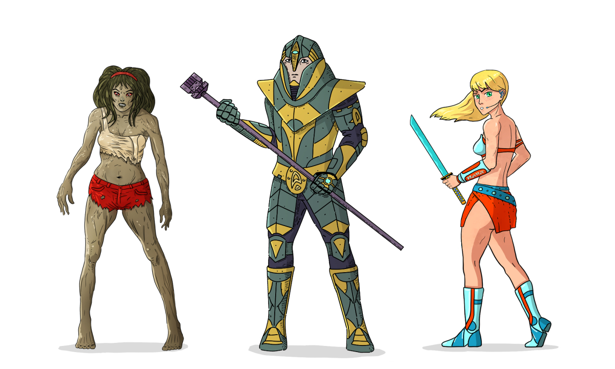 Read more about the article I will draw comic book character designs
