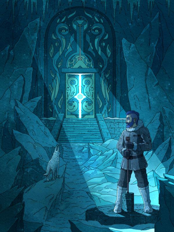 """""""Hidden Gate"""" Printable Wall Art"""