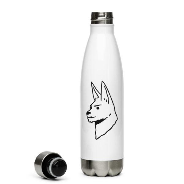 """Kiki"" Stainless Steel Water Bottle"